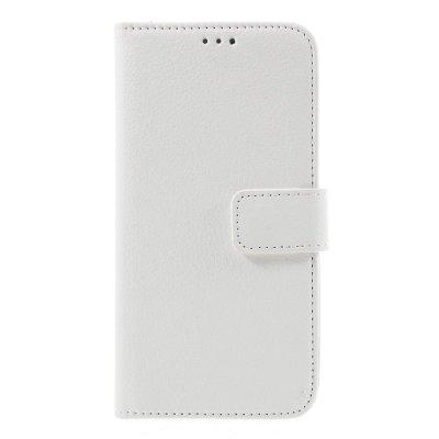 Mobilfodral Plånbok till Samsung Galaxy S7 - Vit litchi