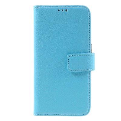Mobilfodral Plånbok till Samsung Galaxy S7 - Blå litchi