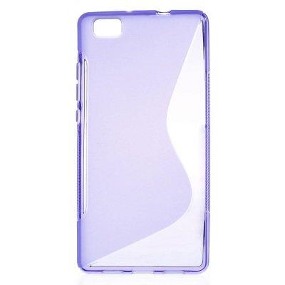 Flexibelt S-Design Skal till Huawei P8 Lite - Lila