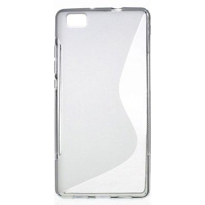 Flexibelt S-Design Skal till Huawei P8 Lite - Grå