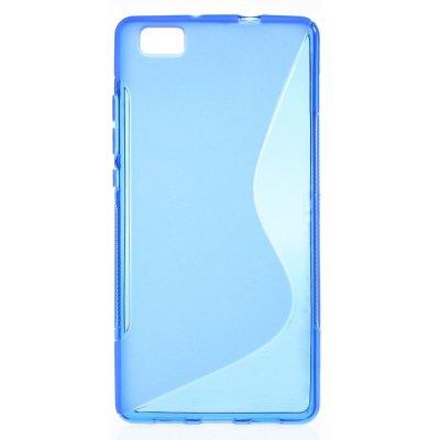 Flexibelt S-Design Skal till Huawei P8 Lite - Blå