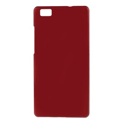 Hårt Skal Huawei P8 Lite - Röd med gummiyta