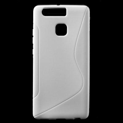 Flexibelt S-Design Skal till Huawei P9 Vit