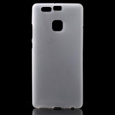Flexibelt Skal till Huawei P9 - Vit TPU skal med matt yta