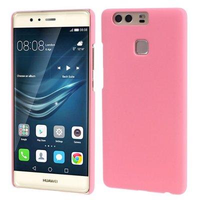 Hårt Skal Huawei P9 - Rosa med gummiyta