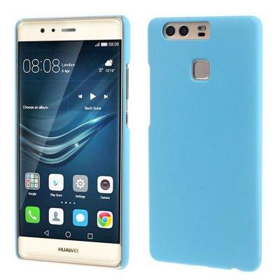 Hårt Skal Huawei P9 - Blå med gummiyta