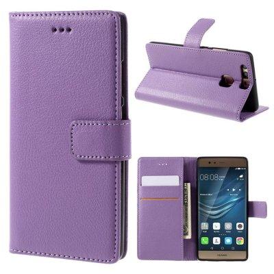 Mobilfodral Plånbok till Huawei P9 - Lila litchi