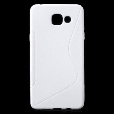 Flexibelt Skal S-Design till Samsung Galaxy A5 (2016) - Vit
