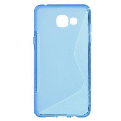 Flexibelt Skal S-Design till Samsung Galaxy A5 (2016) - Blå