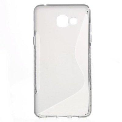 Flexibelt Skal S-Design till Samsung Galaxy A5 (2016) - Grå