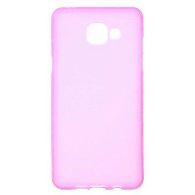 Flexibelt Skal till Samsung Galaxy A5 (2016) - Rödrosa