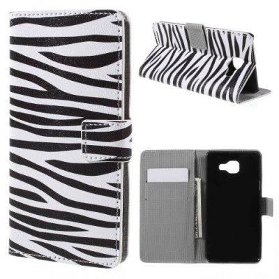 Mobilfodral till Samsung Galaxy A5 (2016) - Motiv zebra