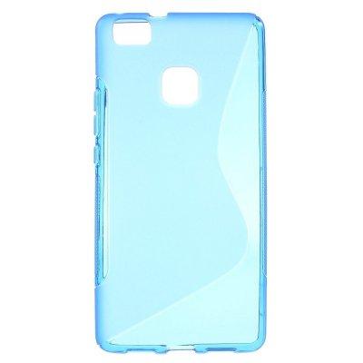 Flexibelt Skal S-Design till Huawei P9 Lite - Blå