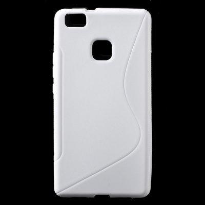 Flexibelt Skal S-Design till Huawei P9 Lite - Vit