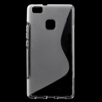 Flexibelt Skal S-Design till Huawei P9 Lite - Transparant