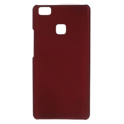 Hårt Skal till Huawei P9 Lite - Röd med gummiyta