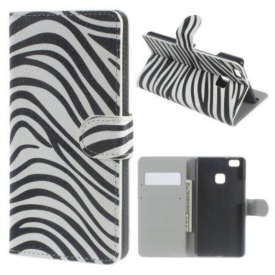 Mobilfodral till Huawei P9 Lite - Motiv zebra