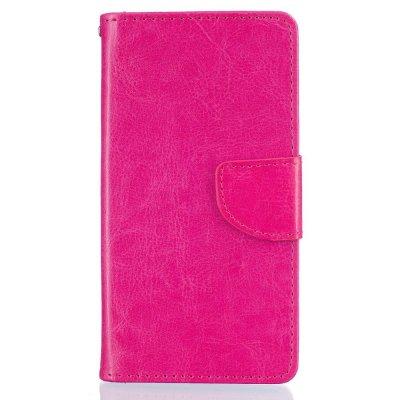 Mobilfodral Plånbok till Huawei P9 Lite - Rödrosa