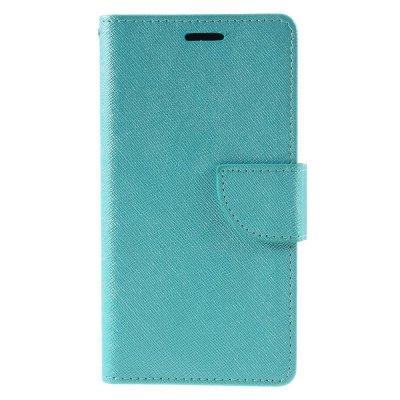 Plånboksfodral till Huawei P9 Lite - Blå texturerad yta