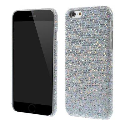 Glitterskal till iPhone 6/6S Silver