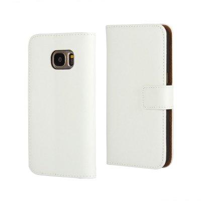Plånboksfodral till Samsung Galaxy S7 - Vit