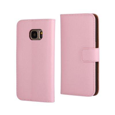 Plånboksfodral till Samsung Galaxy S7 - Rosa
