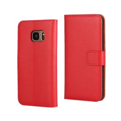 Plånboksfodral till Samsung Galaxy S7 - Röd