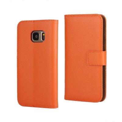 Plånboksfodral till Samsung Galaxy S7 - Orange