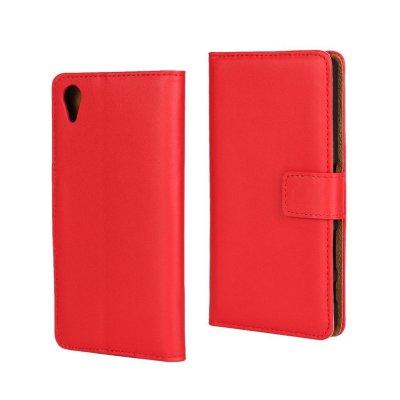 Plånboksfodral till Sony Xperia X - Röd