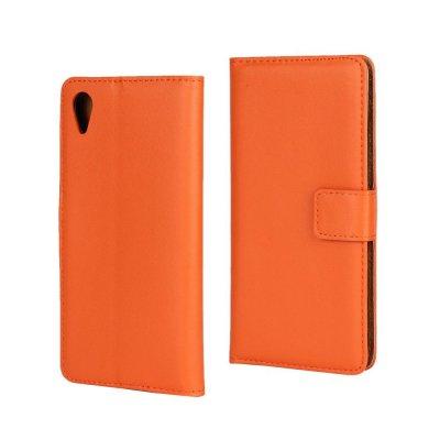 Plånboksfodral till Sony Xperia X - Orange