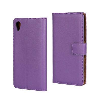 Plånboksfodral till Sony Xperia X - Lila