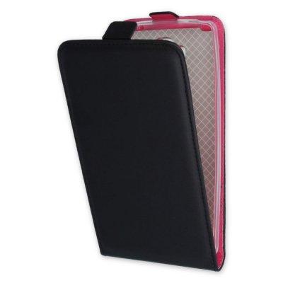 LG G4 fodral med 2 kortplatser - Svart/Rosa