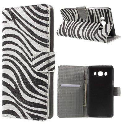 Plånboksfodral till Samsung Galaxy J5 2016 Med motiv Zebra