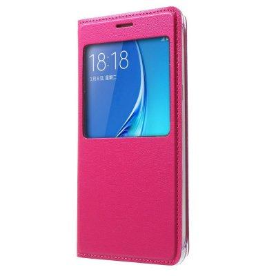 View fodral till Samsung Galaxy J5 2016 - Rödrosa