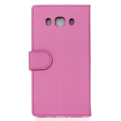 Plånboksfodral till Samsung Galaxy J5 2016 - Rödrosa