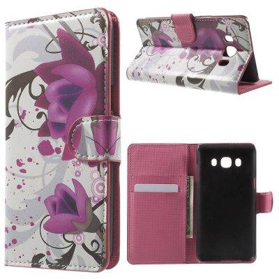 Plånboksfodral till Samsung Galaxy J5 2016 Med motiv lotusblomma