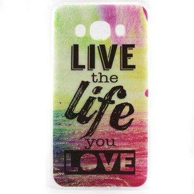 Flexibelt Skal till Samsung Galaxy J5 2016 - Live The Life You Love