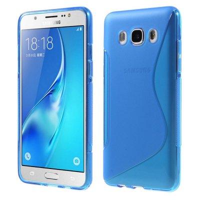 Flexibelt Skal S-Design till Samsung Galaxy J5 2016 - Blå