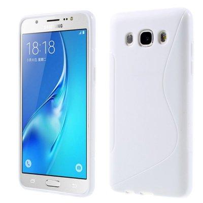 Flexibelt Skal S-Design till Samsung Galaxy J5 2016 - Vit