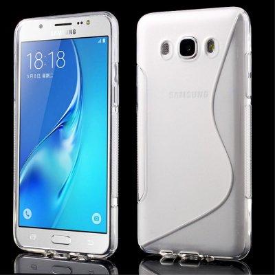 Flexibelt Skal S-Design till Samsung Galaxy J5 2016 - Genomskinlig