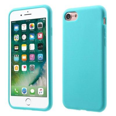 Silikonskal till iPhone 7 - Blå Mjukt & flexibelt skydd