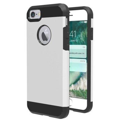 Hybrid Skal till iPhone 7 4,7tum - Silver