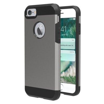 Hybrid Skal till iPhone 7 4,7tum - Grå