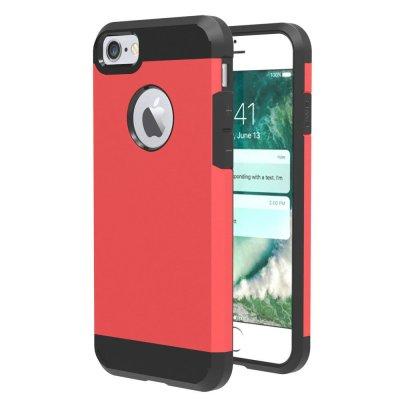 Hybrid Skal till iPhone 7 4,7tum - Röd