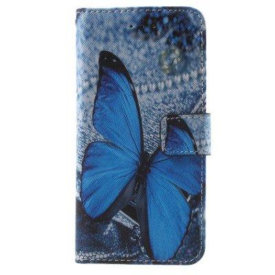 Plånboksfodral till iPhone 7 4,7tum - Blue Butterfly