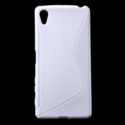 Flexibelt S-Design Skal till Sony Xperia X - Vit
