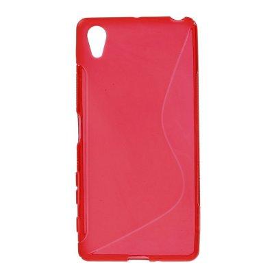 Flexibelt S-Design Skal till Sony Xperia X - Röd