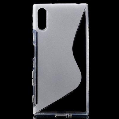 Flexibelt S-Design Skal till Sony Xperia XZ - Transparant