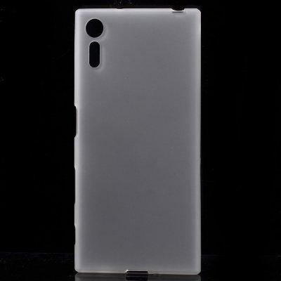 Flexibelt Skal till Sony Xperia XZ - Vit matt yta