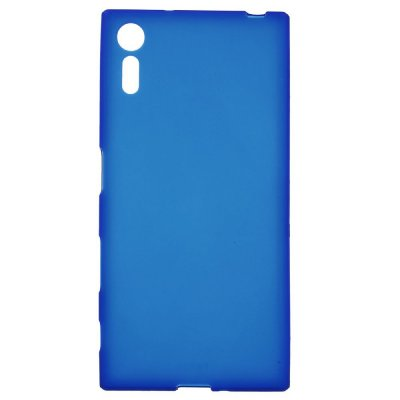 Flexibelt Skal till Sony Xperia XZ - Blå matt yta